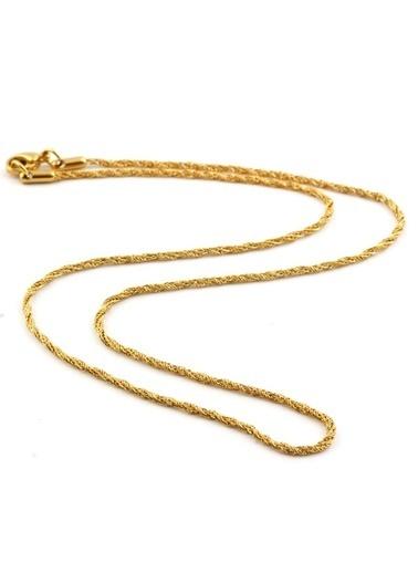 Welch Steel Gold Kadın Çelik Kolye Renkli